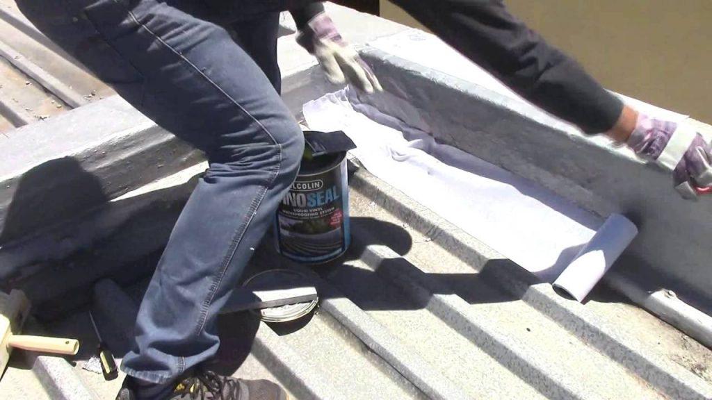Waterproofing with Vino Seal